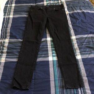 Maurice's Black jeggings jeans